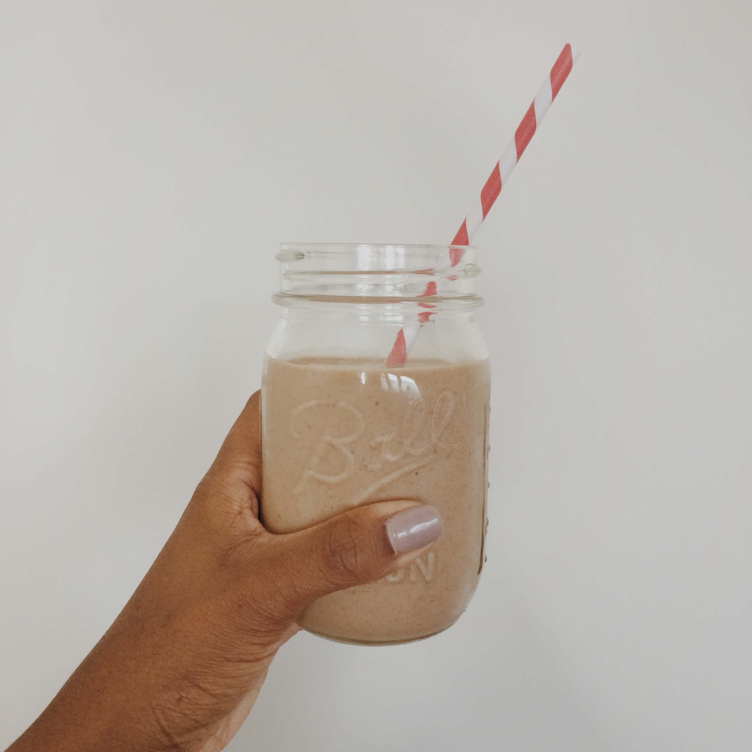 Nutella, Banana and PB Smoothie