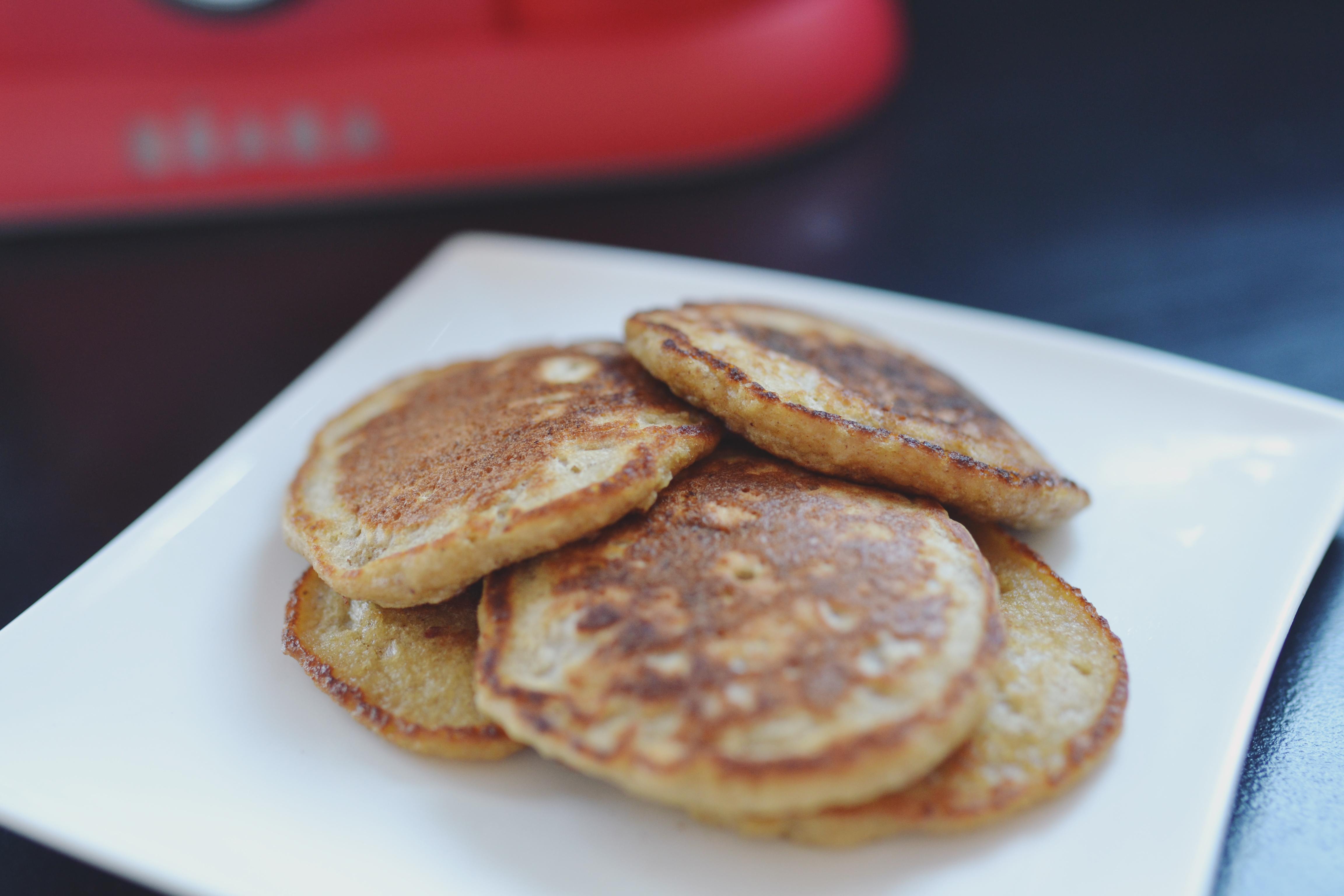 ALW x WCK: Banana Vanilla Pancakes